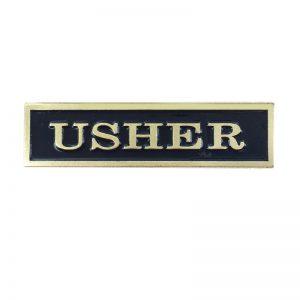 Usher Lapel Pin